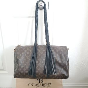 Authentic Louis Vuitton Large Icon Duffle